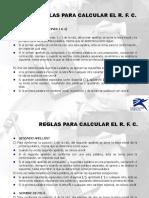 Anexo a Reglas Para Calcular El Rfc