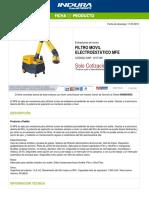 1017105-Filtro Movil Electroestatico Mfe