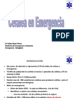 Cefalea en Emergencia