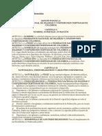 Estatutos de La Federación