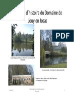 4 Siècles d'Histoire Du Domaine de Jouy