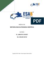 JAIME ROY DOXSEY - Metodologia de Pesquisa Cientifica.pdf