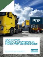 Atlas Copco Brand Identity Manual for Distributors - 2014 Portugese