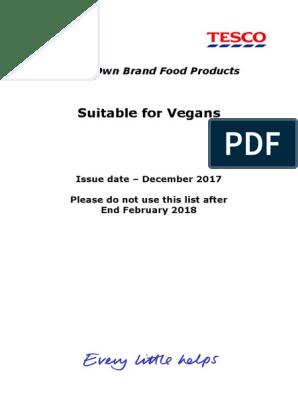 Tesco Products Suitable For Vegans Veganism Potato Chip