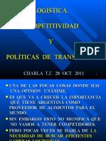 Charla Logistica Competitividad Politica Transp