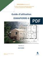 Guide d'Utilisation DIMAPIERRE-6_v.2_18 Avril 2016