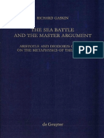 (Quellen und Studien zur Philosophie 40) Richard Gaskin-The Sea Battle and the Master Argument-De Gruyter (1995).pdf
