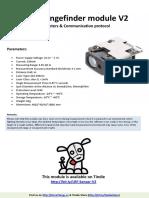 Laser Rangingfinder Sensor V2
