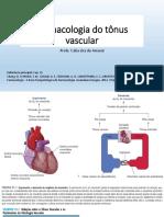Aula 18  Farmacologia Do Tônus Vascular