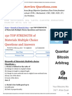 150 TOP STRENGTH of Materials Multiple Choice Questions and Answers.pdf