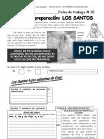 FICHA 20 Los Santos
