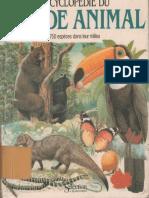 Encyclopédie Du Monde Animal