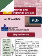 Presentation Definite Article