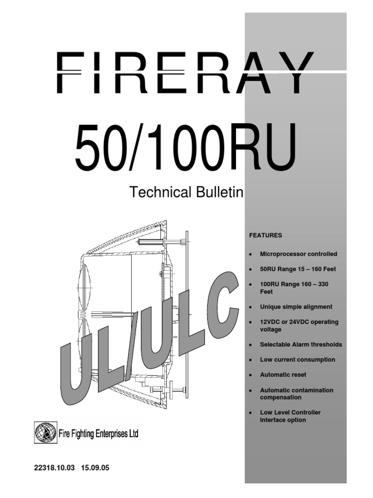 Manual Fireray 50 100 Ru Resistor Relay Rangkaian 5 Pin