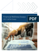 2017 Financial Wellness Essay Collection
