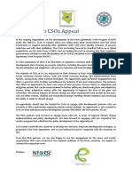 East African CSOs Appeal