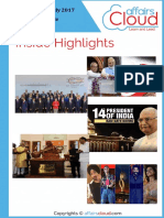 Current Affairs Study PDF - July 2017 by AffairsCloud