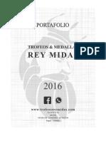 2016 Portafolio Trofeos Rey Midas .