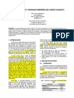 DISEÑO HIDRAULICO Y DEFENSAS RIBEREÑAS DEL PUENTE HUANCHUY.doc