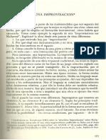 BOULEZ Pierre, 1961 - Construir Una Improvisación