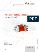 Serie CE-65 Absolute Rotary Encoder
