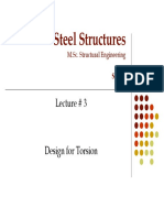 M.Sc. Steel Structures Lecture#3