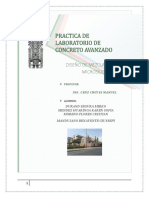 Diseño de Mezclas Con Microsilice