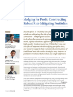 Hedging for Profit - Constructing Robust Risk-Mitigating Portfolios
