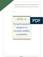 13.3 ANEXO-POR QU+ë NO ES NECESARIA, PERTINENTE NI CIENT+ìFICA LA VACUNA DE LA GRIPE (2-¬ PARTE)