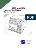 Ventilador Nellcor Lp6 Plus, Lp10 e Lp20 - Ms