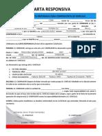 Carta Responsiva Venta de Veiculo