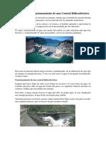 Principio de Funcionamiento de Una Central Hidroeléctrica