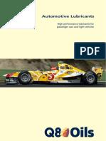q8oils Automotive Passenger Car Oils
