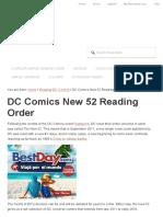 DC New 52 Reading Order _ Complete Comics Checklist & Guide! _ Comic Book Herald