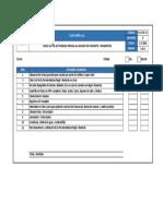 Fl-gp-r-3.3 Check List de Actividades Previas Al Vaciado de Concreto - Pavimentos