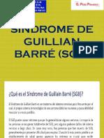 Síndrome de Guillian Barré (Sgb)