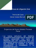 Técnicas de Litigación Oral Teoría Del Caso CasoOscar Cubas Barrueto