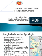 Textile SME and Global Value Chain Bangladesh Context