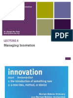 Lecture 6 - Managing Innovation Edited