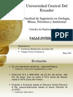 Valle interandino y cuencas intramontanas