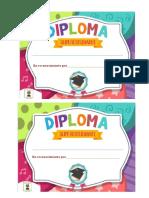 Diploma Dia Del Alumno