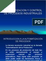 Tema 1 La Automatizacion Industrial, Planteamientos y Aplicaciones