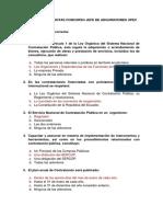 CMYO 2015 Banco de Preguntas y Respuestas Jefe de Adquisiciones