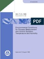 S_7101 Environment Condition