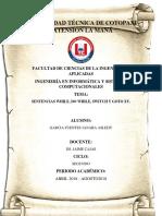 Programacion Sentencia Aslehy Garcia Fuentes.