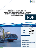 7. Beneficios de Utilizar Términos Internacionales de Comercio en Exportaciones e Importaciones (Arbitrajes Marítimos) - Julio Yon(4)