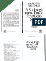 FERNANDES, Florestan - A Sociologia Numa Era de Revolução Social 2 Ed.