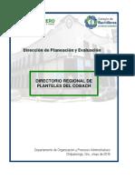 Directorio Regional de Planteles Del COBACH Guerrero