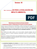Semana N°06 - Metodología para la Evaluación del Impacto Ambiental.pptx