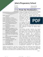 Prep Newsletter No 7 2010